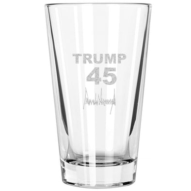 Pint Glass - Trump 45