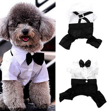 Load image into Gallery viewer, Tuxedo bow tie suit