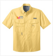 Load image into Gallery viewer, Eddie Bauer Short Sleeve Fishing Shirt in Yellow or Blue
