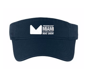 Visor in Navy or White