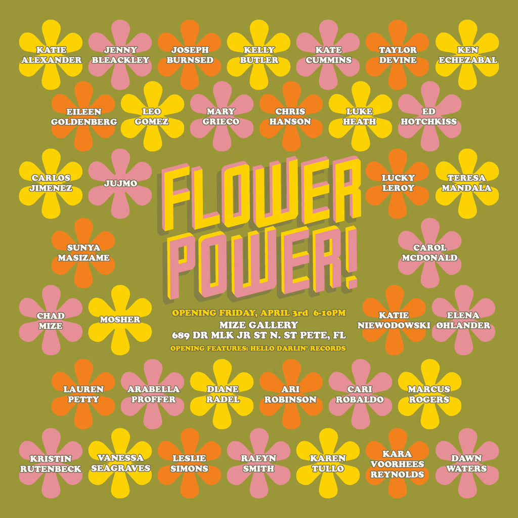 Flower Power! An Art Show
