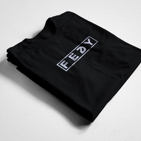 LIMITED EDITION FEDY BOX LOGO TEE - BLACK (70 MADE)