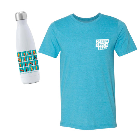 JAGGED LITTLE PILL Tee and Water Bottle Set