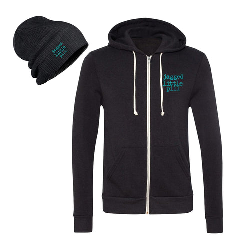 JAGGED LITTLE PILL Hoodie and Beanie Set