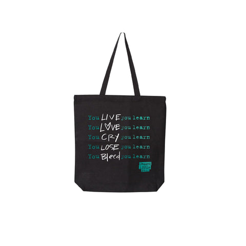 JAGGED LITTLE PILL You Learn Tote