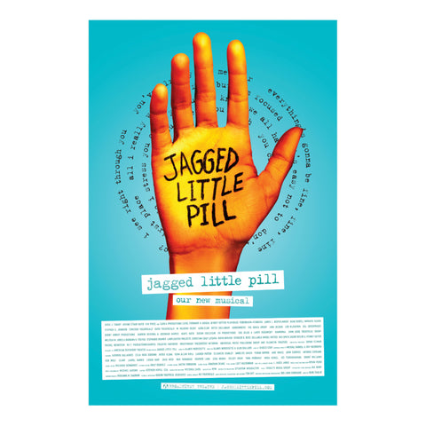 JAGGED LITTLE PILL Windowcard