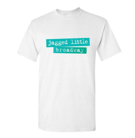 JAGGED LITTLE PILL Blue Fade Broadway T-Shirt