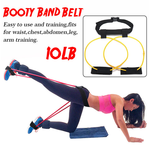 7 Mountains® Hip Butt Booty Belt Band Body Muscles Trainer Body Lifter