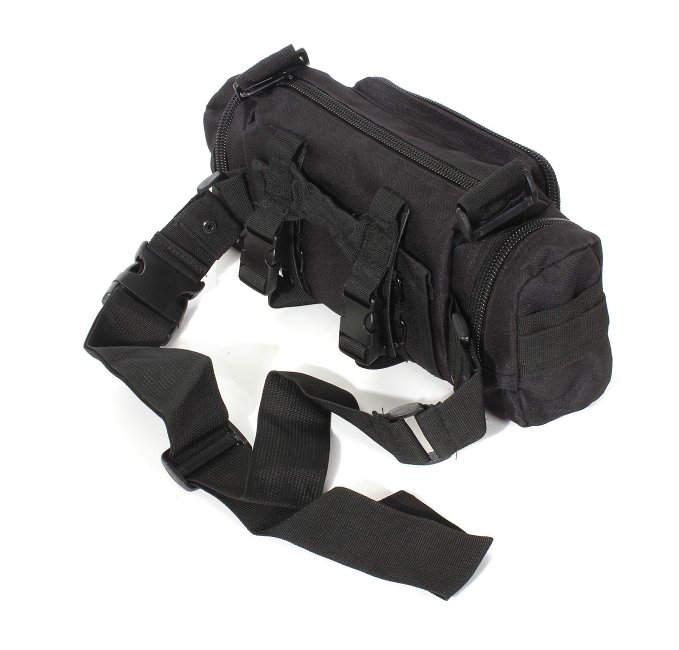 Black secondary bag back
