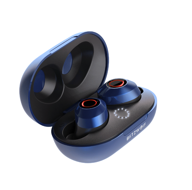 Blitzwolf® Mini Bluetooth Wireless Earbuds Stereo Earphone Portable Charging Box