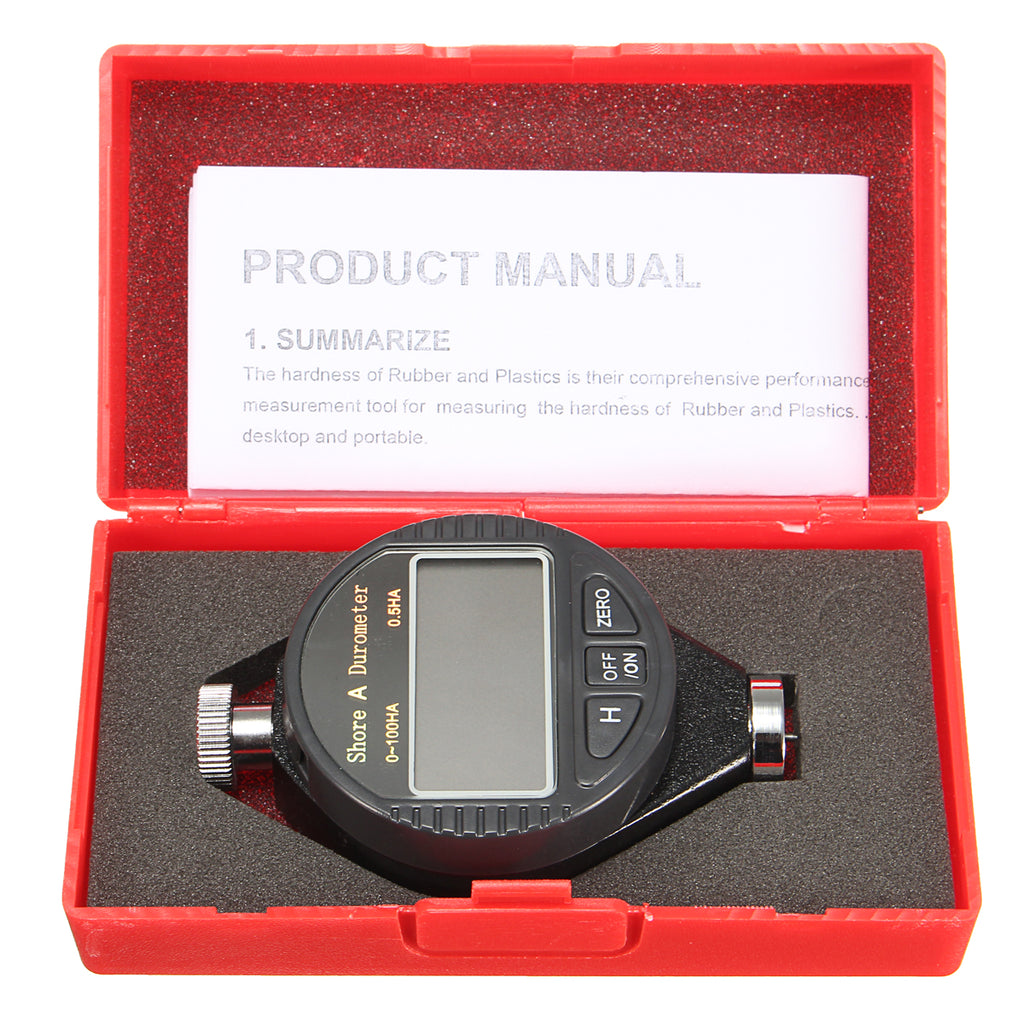 7 Mountains Digital LCD Hardness Tester Rubber Tire Shore  Meter Durometer