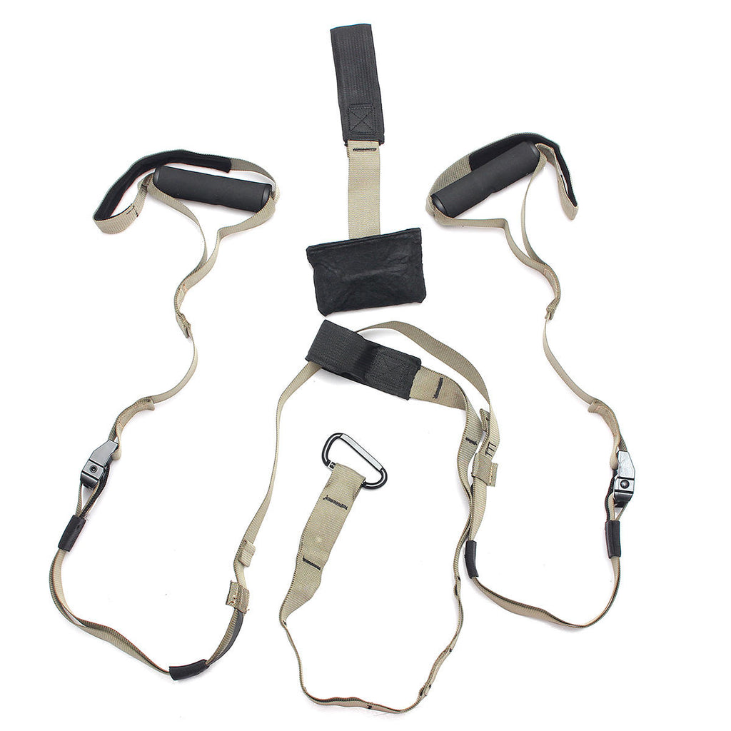 7 Mountains® Exercise Suspension Straps Full Body Home Fitness Workout Stretch