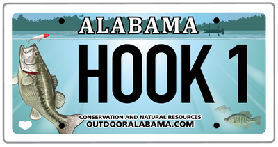New Design of Freshwater Fishing License Plate Now Available