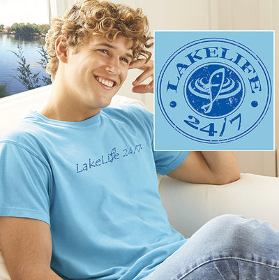 LakeLife 24/7® Vintage T-Shirt - Short Sleeve