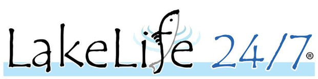 LakeLife 24/7® Sticker / Decal - Large Logo