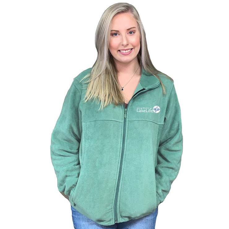 Logan Martin LakeLife™ Fleece Jacket -  Full Zip