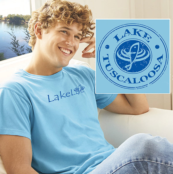 "Tuscaloosa LakeLife™ ""Vintage"" T-Shirt - Short Sleeve"