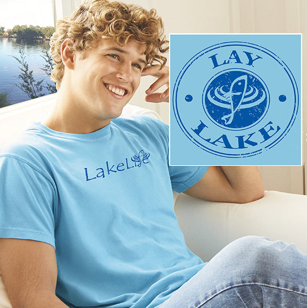 Lay LakeLife™ Vintage T-Shirt - Short Sleeve