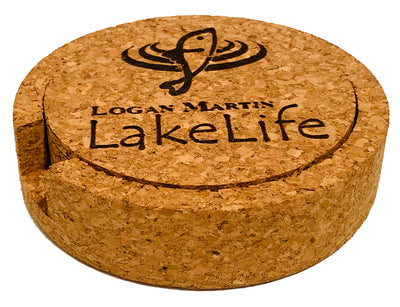 Logan Martin LakeLife™ Coasters - Cork