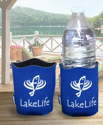 LakeLife 24/7® Wave Koozies