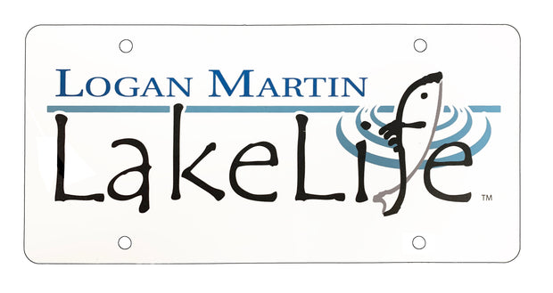 Logan Martin LakeLife™ Car Tag