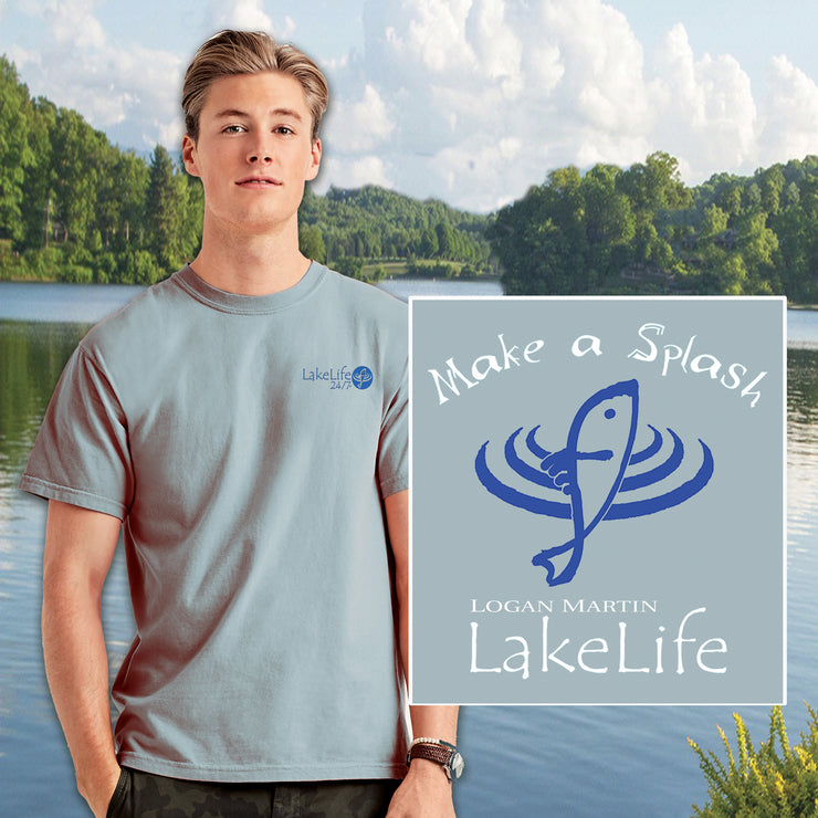 Logan Martin LakeLife™ Splash T-Shirt - Short Sleeve