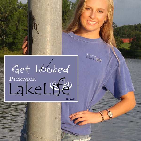 "Pickwick LakeLife™ ""Get Hooked"" T-Shirt - Short Sleeve"