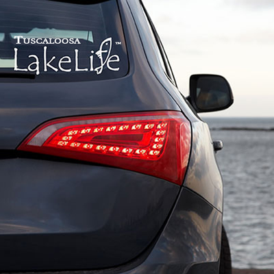 Tuscaloosa LakeLife™ Stickers / Decals