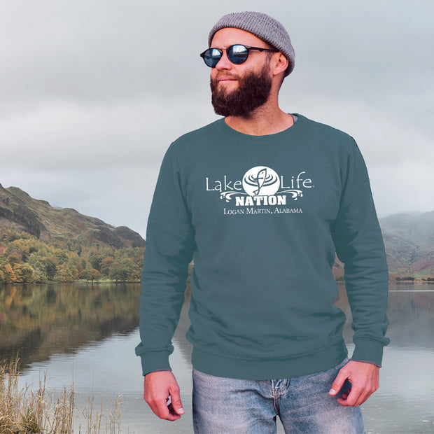 Logan Martin LakeLife™ Sweatshirt - LakeLife Nation design