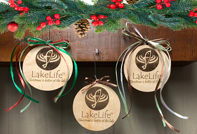 LakeLife Christmas Ornaments