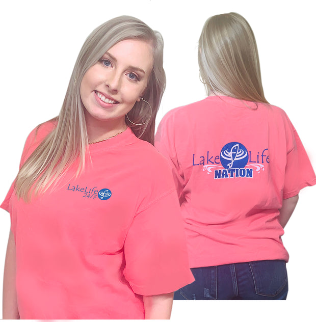 "LakeLife 24/7® ""LakeLife Nation"" T-Shirt - Short Sleeve"