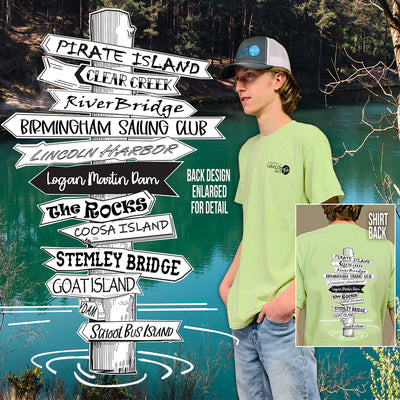 Logan Martin LakeLife™ Directions Short Sleeve T-Shirt