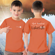 "Logan Martin LakeLife™ ""Get Hooked"" Youth T-Shirt - Short Sleeve"
