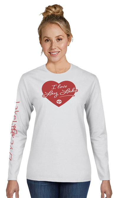 "Lay LakeLife™ ""Lovin' Life at the Lake"" Long Sleeve T-shirt"