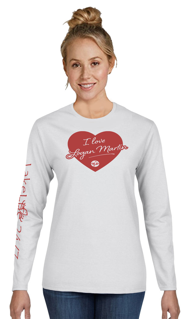 "Logan Martin LakeLife™ ""Lovin' Life at the Lake"" Long Sleeve T-shirt"