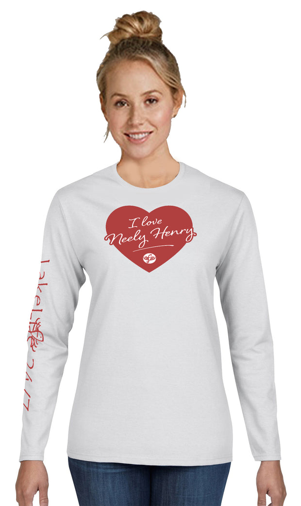 "Neely Henry LakeLife™ ""Lovin' Life at the Lake"" Long Sleeve T-shirt"