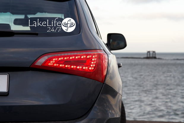 LakeLife 24/7® Sport Sticker / Decal