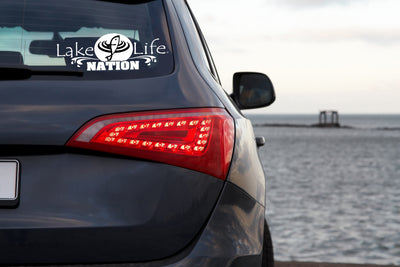 LakeLife Nation Sport Sticker / Decal