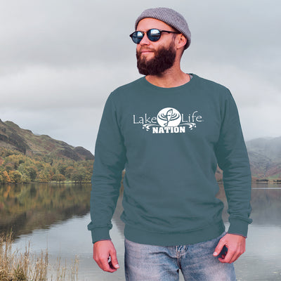 LakeLife 24/7® Sweatshirt - LakeLife Nation design