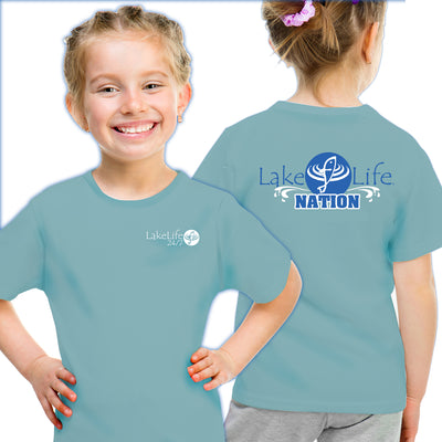 "LakeLife 24/7® ""LakeLife Nation"" Youth T-Shirt - Short Sleeve"