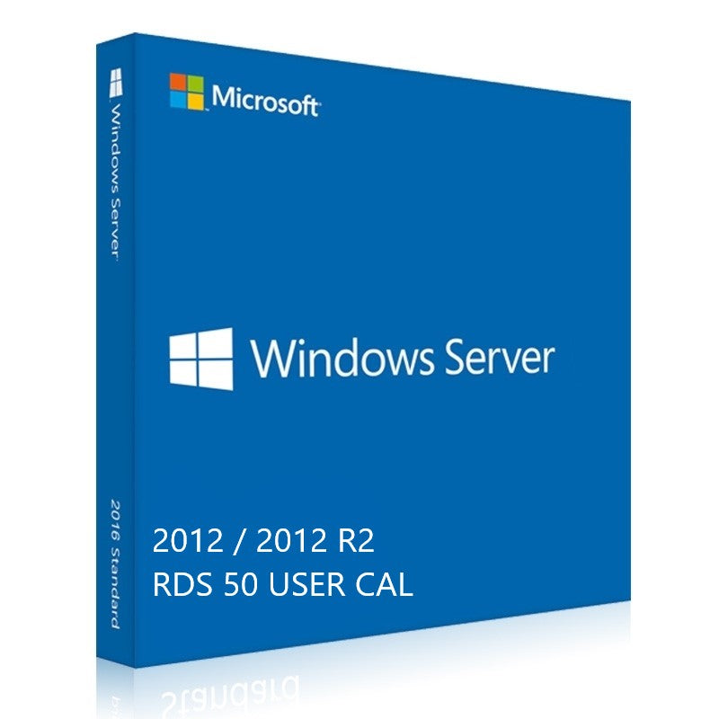 Windows Server 2012 RDS User CALs 50 - yourofficehub