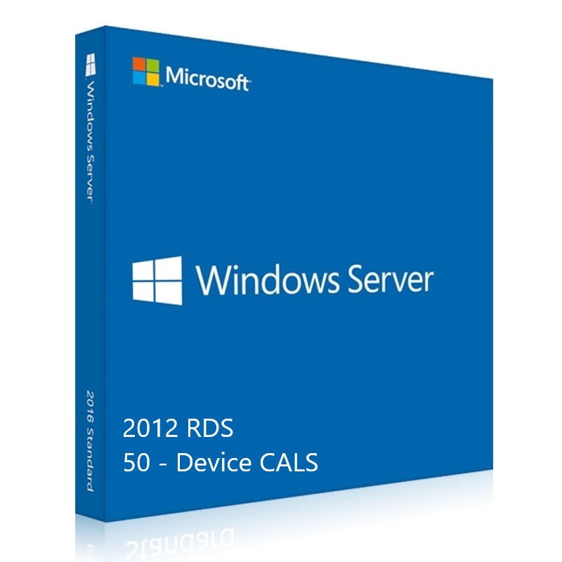 Windows Server 2012 RDS CALs 50 - yourofficehub