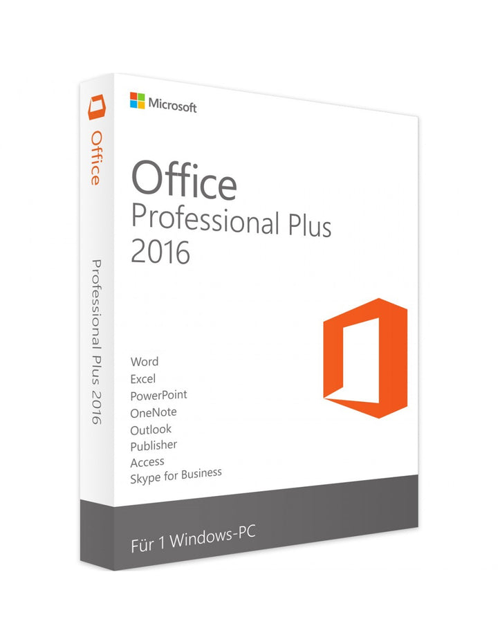 Microsoft Office 2016 Professional Plus - Lifetime License - yourofficehub