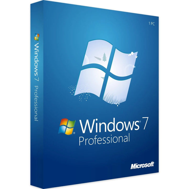 Windows 7 Professional with SP1 Product Key for 32 / 64 Bit - NOT FOR VISTA UPGRADE - yourofficehub
