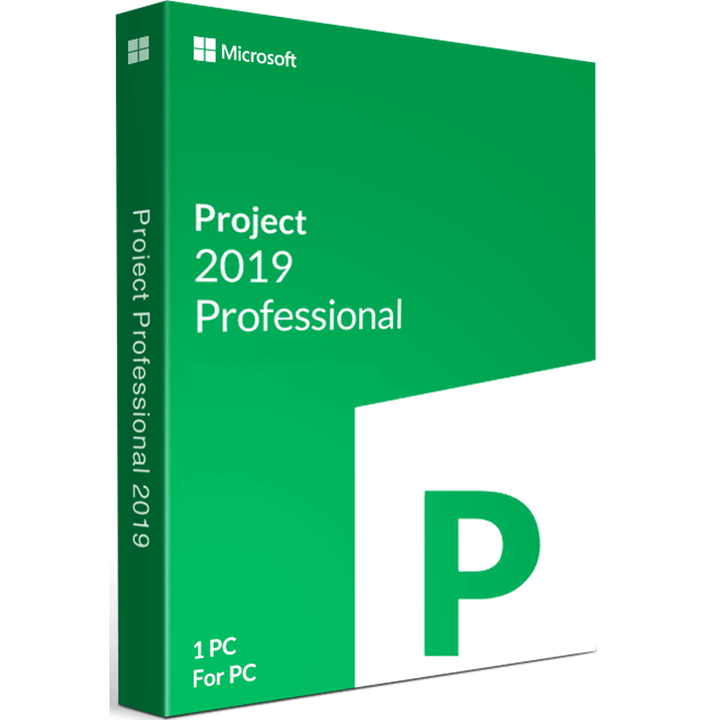 Microsoft Project Professional 2019 - Lifetime License - yourofficehub