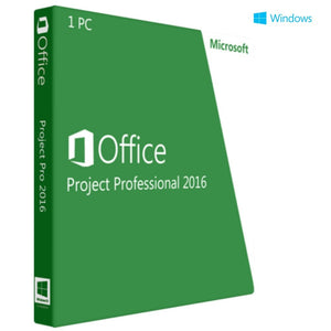 Microsoft Project 2016 Professional 32/ 64 bit - Lifetime License - yourofficehub
