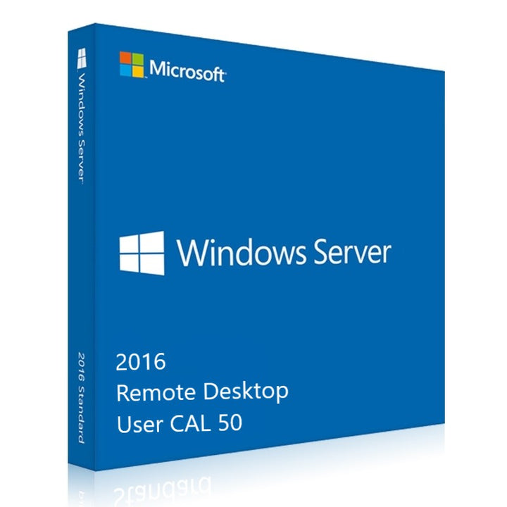 Windows Server 2016 RDS User CALs 50 - yourofficehub