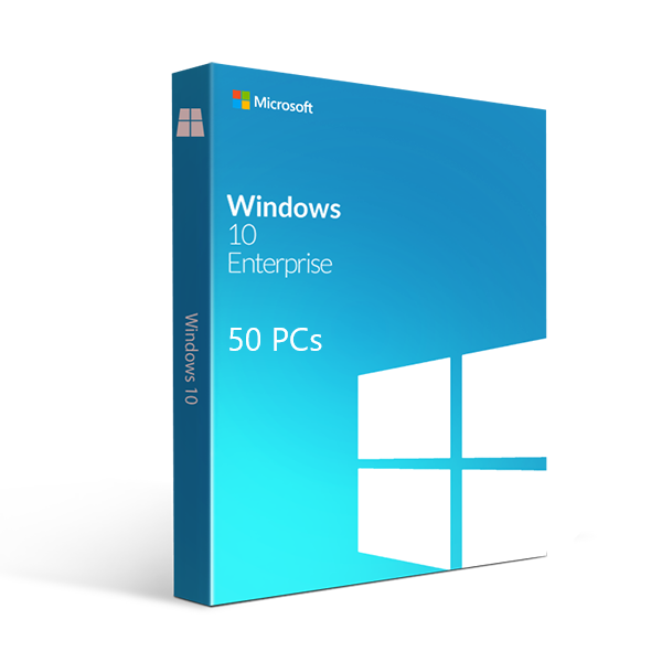 Microsoft Windows 10 Enterprise 50 PCs - yourofficehub