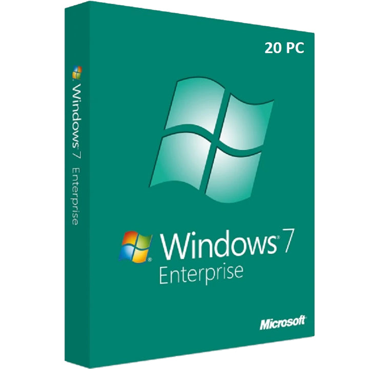 Windows 7 Enterprise 32bit/64bit for 20 PC Devices - yourofficehub