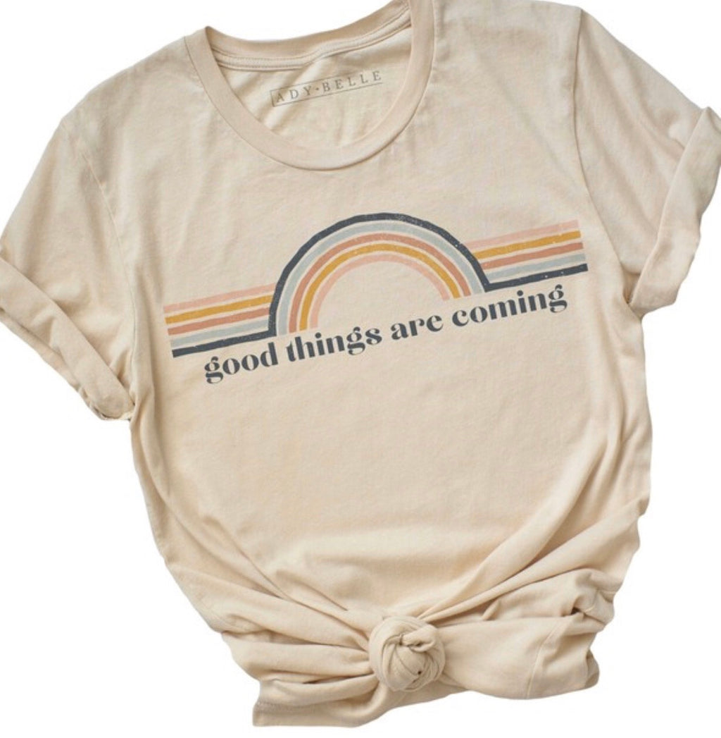 Good Things Rainbow T